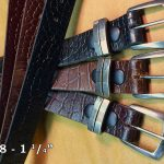 marc wolf leather belts
