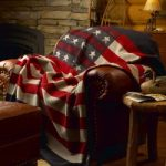 Woolrich freedom throw