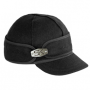 Ida Kromer hat with hardware - black