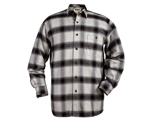 Stormy Kromer Flannel Shirt - gray/black