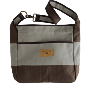 Stormy Kromer tote - driftwood