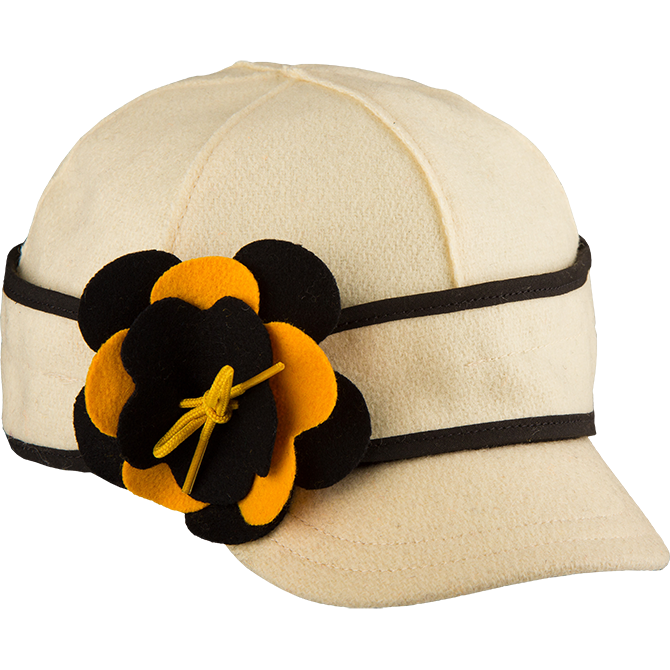 Stormy Kromer petal pusher benchwarmer - black and gold