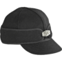 Stormy Kromer original cap with hardware - black
