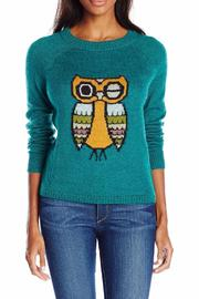 Mohair Owl sweater
