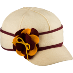 Stormy Kromer petal pusher benchwarmer - maroon and gold