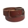 leather belt - distressed wine